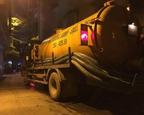 thông tắc cống tại Hoàng Mai
