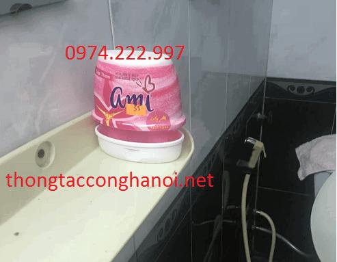 sáp thơm khử mùi hôi nhà vệ sinh
