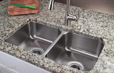 Cách lắp chậu rửa bát