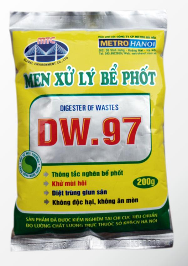 men xử lý bể phốt Dw.97