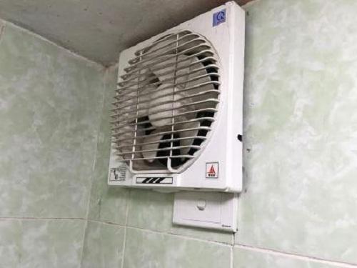 Quạt thông gió nhà vệ sinh