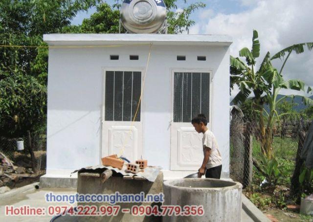 mẫu nhà vệ sinh nông thôn