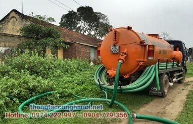 hút bể phốt tại Thanh Hóa