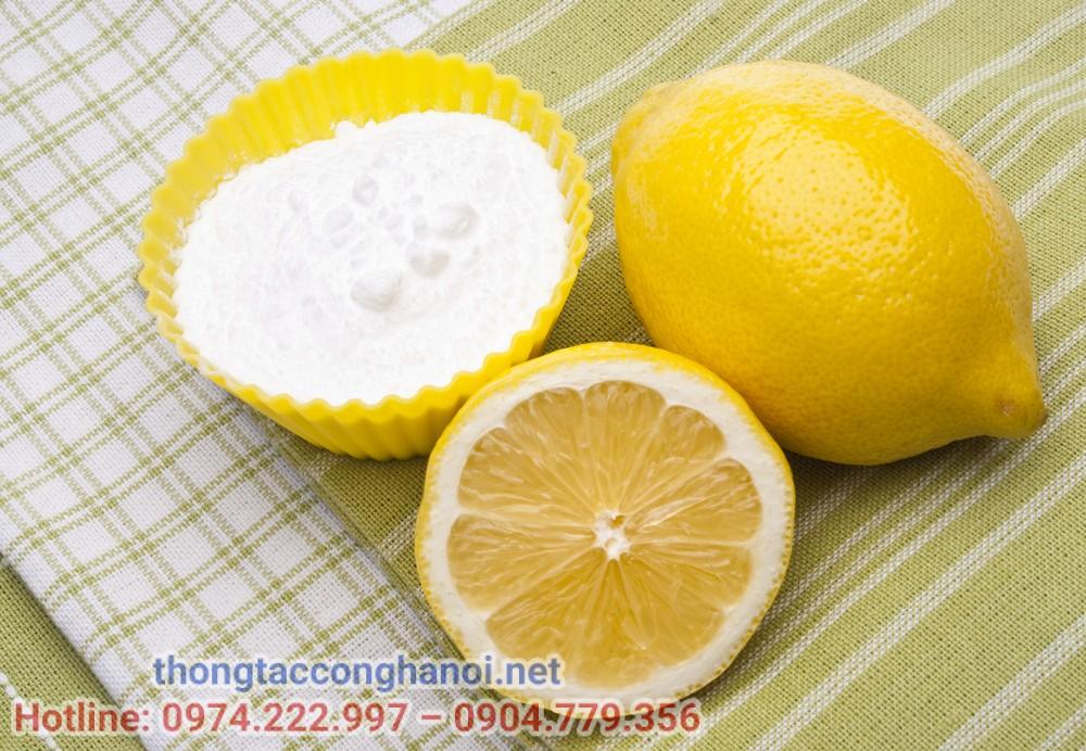 cách làm sạch bồn rửa mặt
