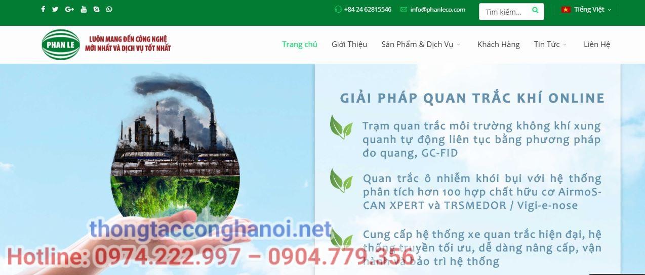 Công ty môi trường Phan Lê