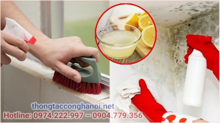 diệt nấm mốc khử mùi