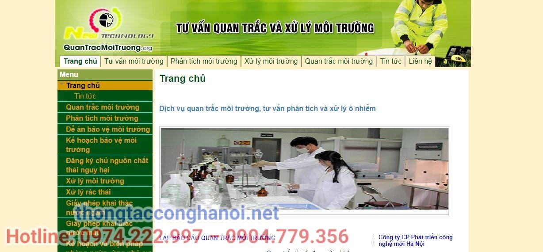 các công ty môi trường tại Hà Nội