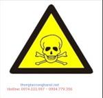 Cảnh báo chất thải độc hại