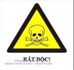 Cảnh báo chất gây độc cấp tính