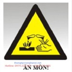 Cảnh báo chất thải ăn mòn