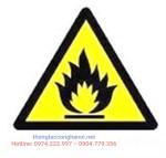 Cảnh báo dễ cháy