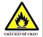 Cảnh báo chất rắn dễ cháy
