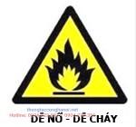 Cảnh báo dễ cháy nổ