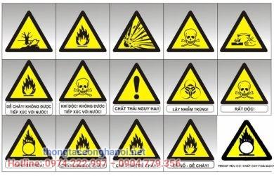 biển báo cảnh báo