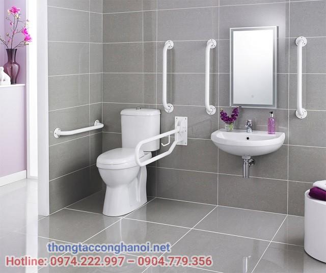 Kích thước nhà vệ sinh cho người khuyết tật theo chuẩn