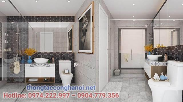 Những lưu ý trong thiết kế nhà vệ sinh