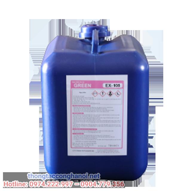 hóa chất tẩy cặn GREEN EX 935