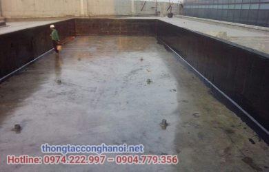quy trình chống thấm bể nước 5