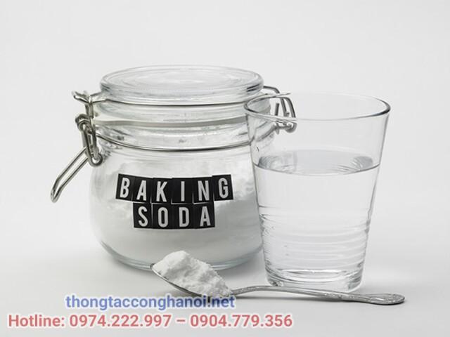 khử mùi hôi phòng ngủ với baking soda
