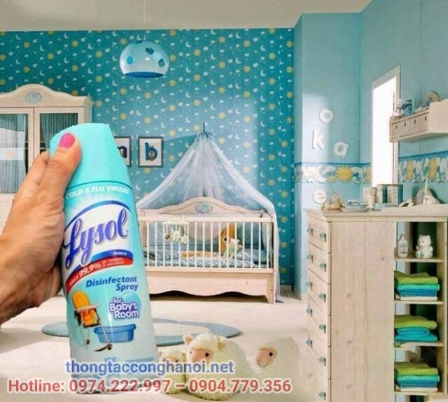 Sử dụng sản phẩm chuyên dụng nước xịt phòng