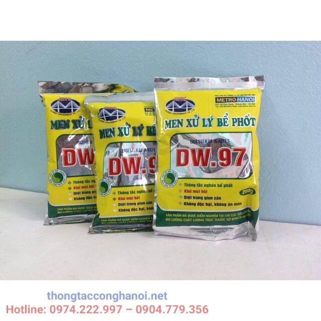 Hóa chất xử lý hầm cầu DW.97