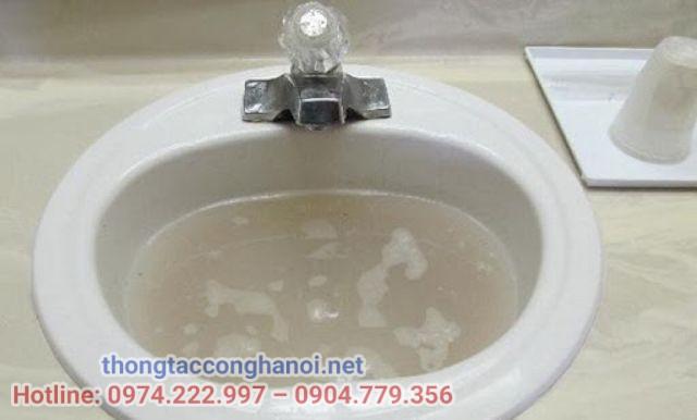 cách thông tắc bồn rửa mặt 1