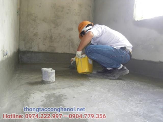 Yêu cầu khi thiết kế sàn vệ sinh