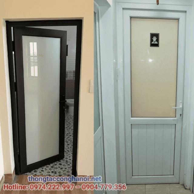 Kích thước cửa nhà vệ sinh cho nhà trọ
