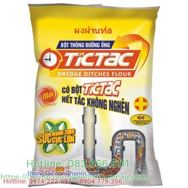 Men xử lý hầm cầu Tictac