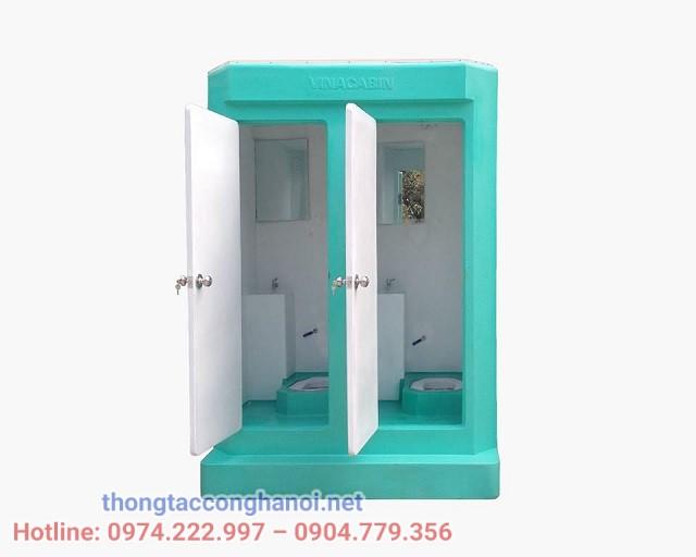 Nhà vệ sinh di động 1