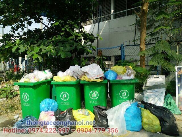 Phân loại rác thải sinh hoạt